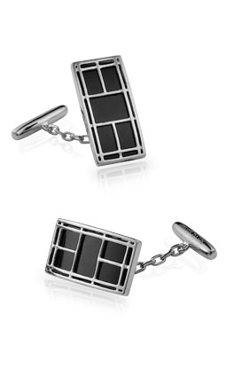 Badminton Court Cufflinks