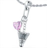 Badminton Love Pendant