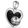 Love Basketball Pendant
