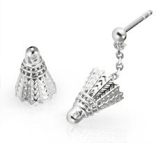 Free-Flowing Shuttlecock Earrings