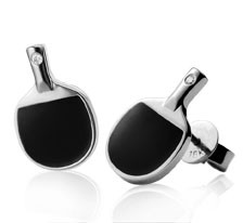 Table Tennis Bat Earrings