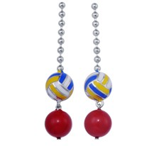 Volleyball Rocks Earrings