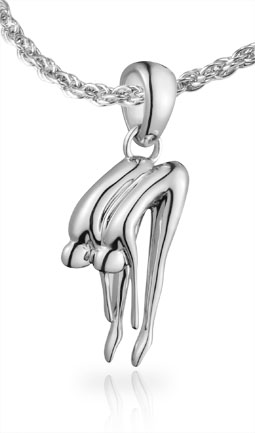 Synchronised Diving Pendant