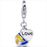 Love Volleyball Pendant