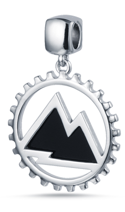 Mountain Tag Pendant