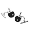 Table Tennis Bat Cufflinks