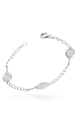 Tennis Racquet Bracelet