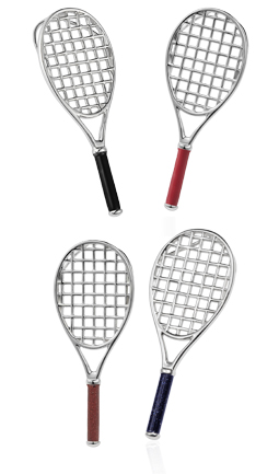 Tennis racquet pendant vinqui sports jewelry tennis racquet pendant aloadofball Images