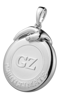 Ultimate GZ Teammate Disc Pendant
