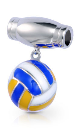 Volleyball Drop Pendant