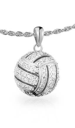 Volleyball All-Star Ball Pendant