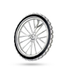 Mountain Bike Wheel Pendant