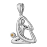 King Pigeon Pose Pendant