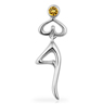 Namaste Tree Pose Pendant
