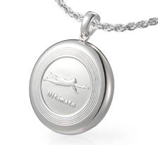 VQ Ultimate Flying Disc Pendant